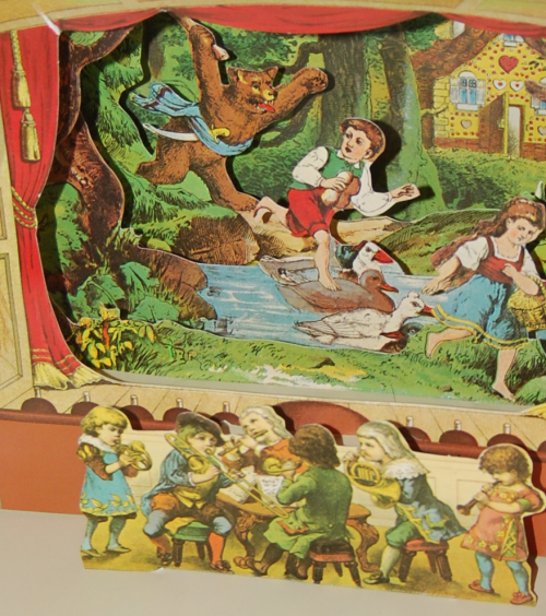 The childrens' theater antique pop up book 3