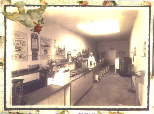 Barbre's ice-cream store