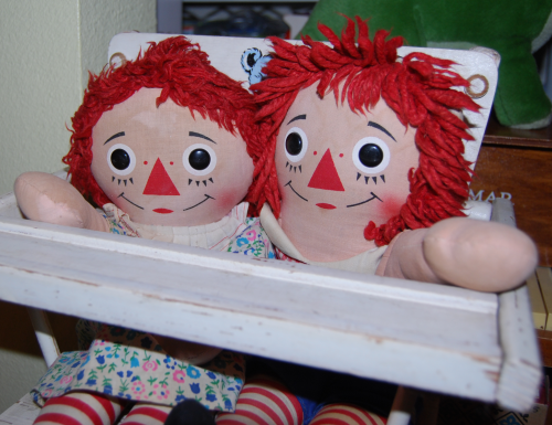 Vintage raggedy andy doll 4