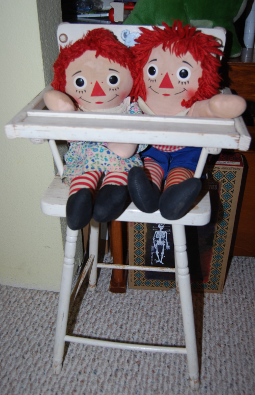 Vintage raggedy andy doll 5