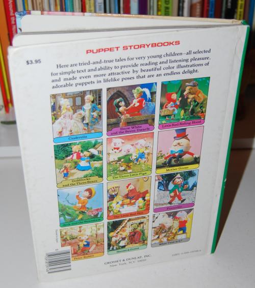 Goldilocks puppet storybook x