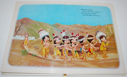 Ten little indians puppet storybook 4