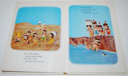 Ten little indians puppet storybook 5