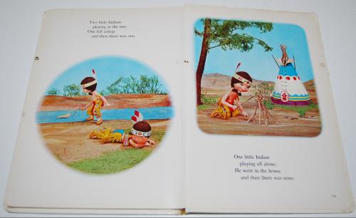 Ten little indians puppet storybook 8