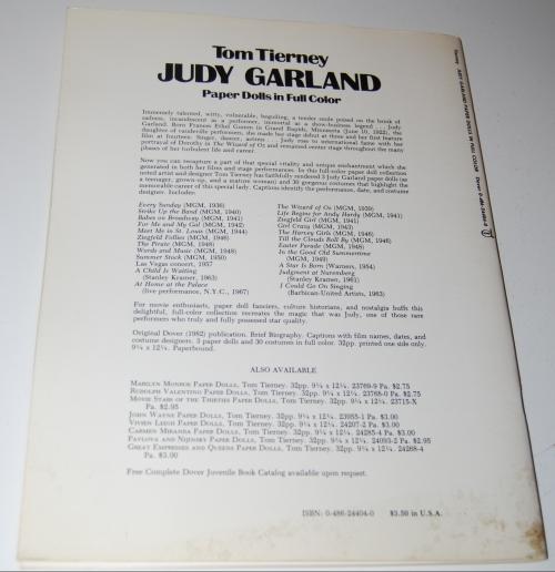 Judy garland paperdolls x