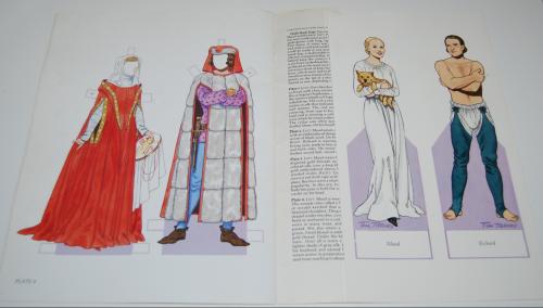 Medieval costumes paperdolls 5