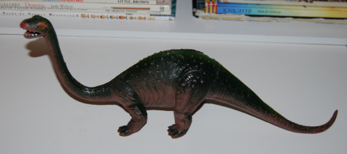 Brontosaurus toy