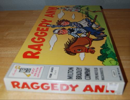 Milton bradley raggedy ann game 1