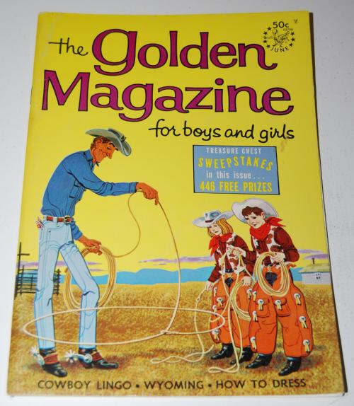 Golden magazine june 1967