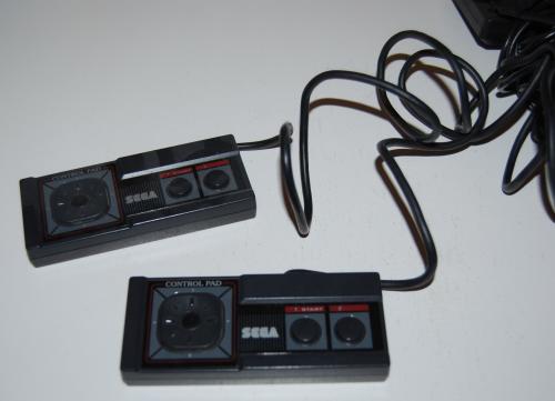 Vintage sega master game system x