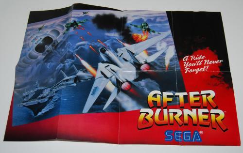 Vintage sega game system ad x