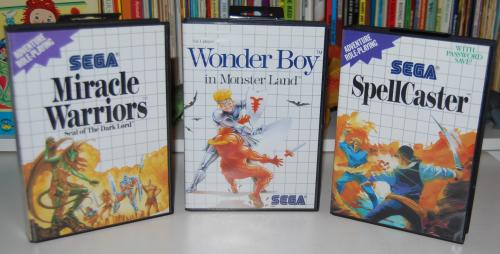 Vintage sega master system games 2