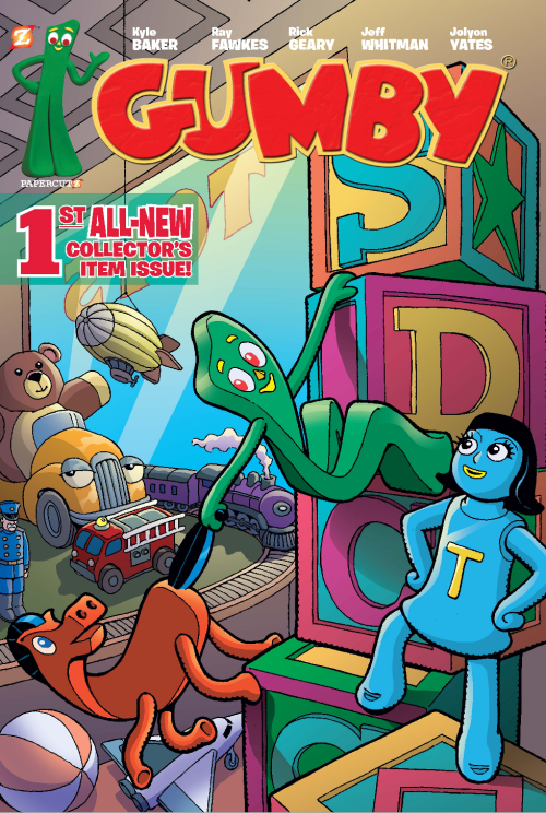 Gumby1cover collector item