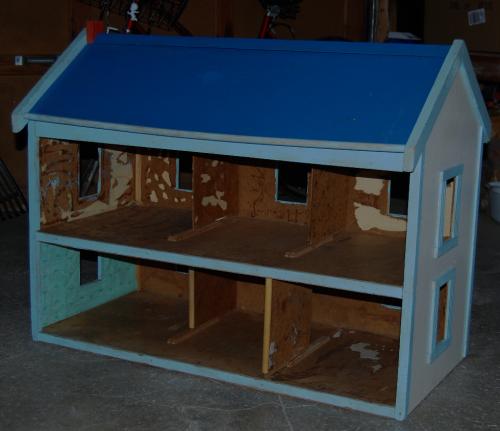 Ladybug house before