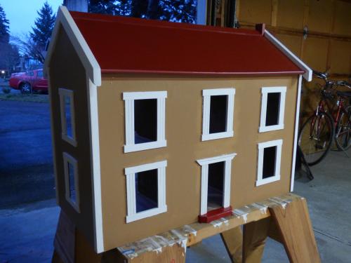 Ladybug house work