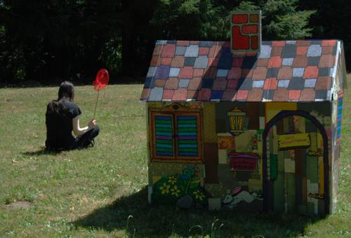Patchwork playhouse