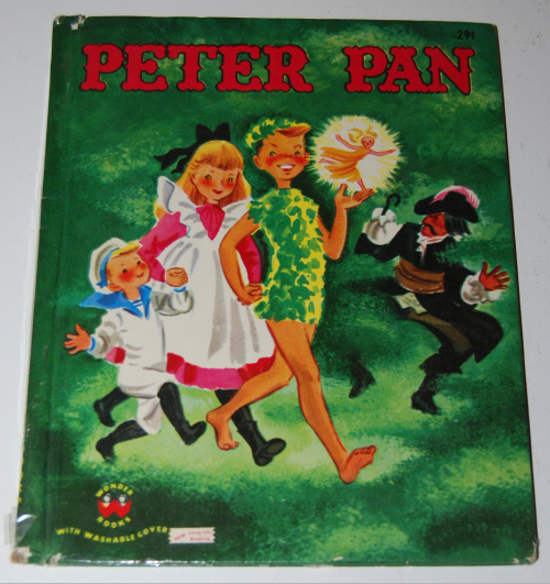 Peter pan wonder book