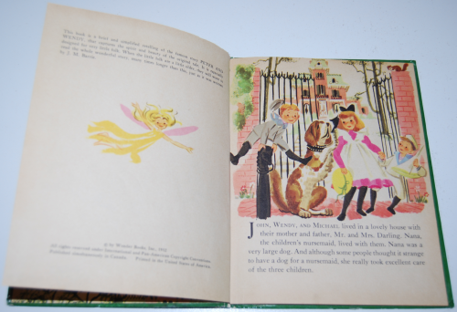 Peter pan wonder book 2
