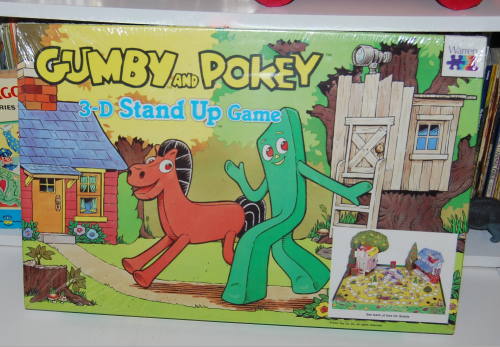 Gumby & pokey 3d stand up game
