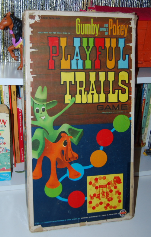 Gumby & pokey playful trails game x