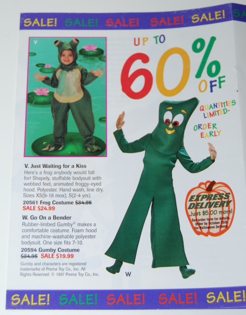 Gumby learn & play ad x