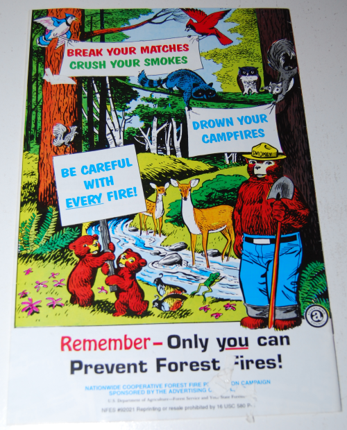 The true story of smokey the bear x