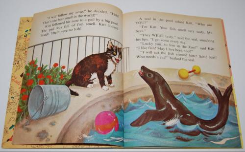 Little golden book who needs a cat 3