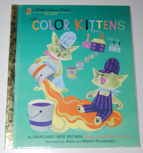 Little golden book the color kittens 2