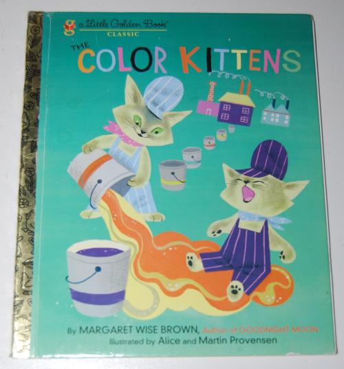 Little golden book the color kittens 2