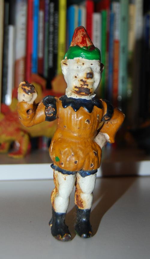 Cast iron clown x