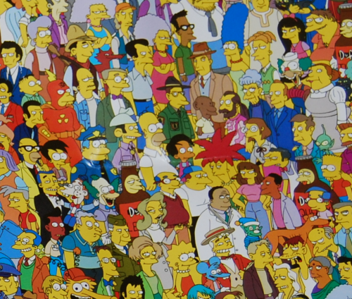 The simpsons trivia game 3
