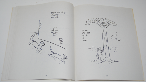 How to draw cartoons signed syd hoff book 6