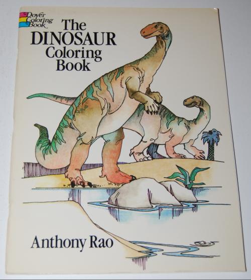 Dover dinosaur coloring book