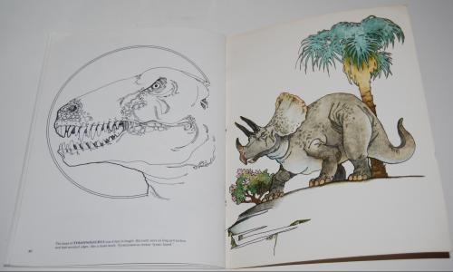 Dover dinosaur coloring book 12