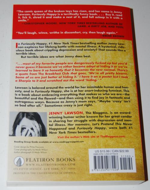 Jenny lawson furiously happy x