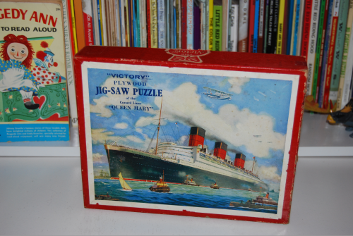 Victory queen mary plywood puzzle