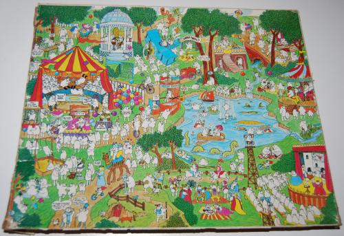 Sheep thrills puzzle