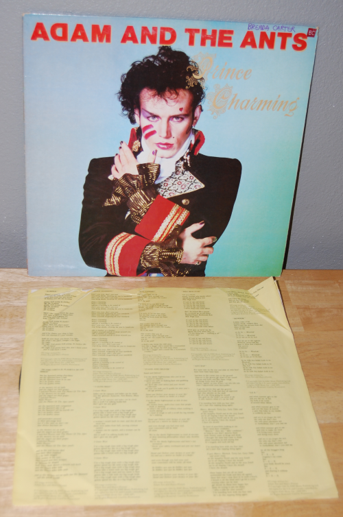 Adam & the ants vinyl lp 1
