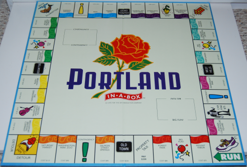 Portland in a box board game 4
