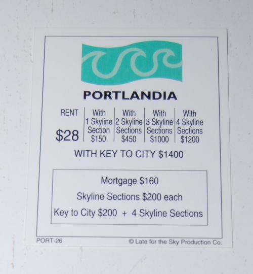 Portland in a box board game 12