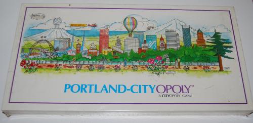 Portland cityopoly game
