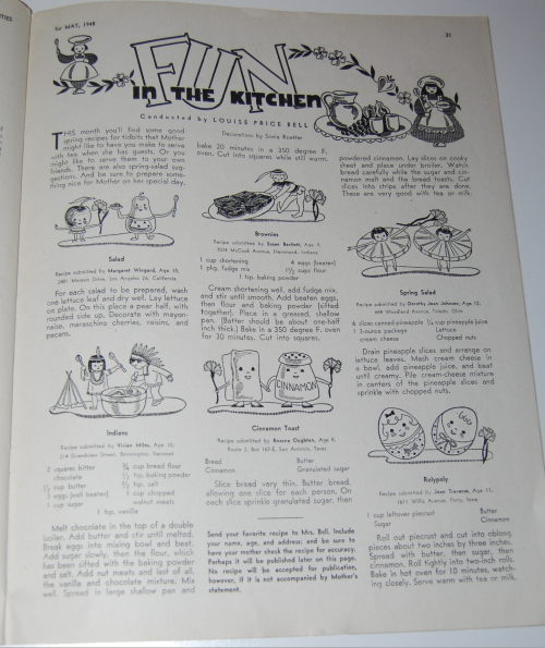 Children's activities magazine may 1948 8