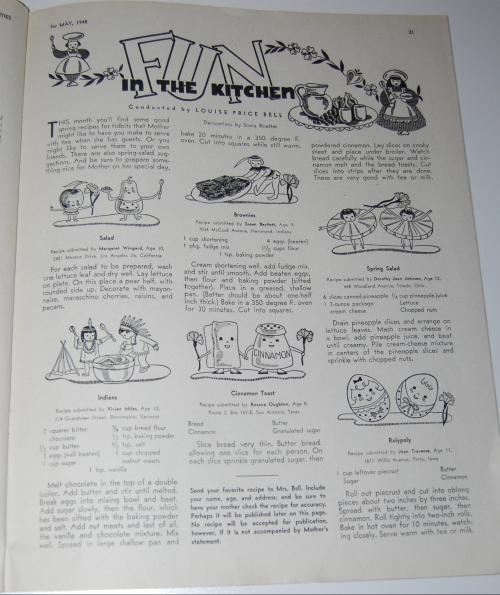 Children's activities magazine may 1948 8