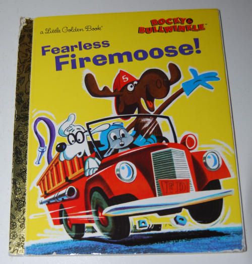 Fearless firemoose little golden book