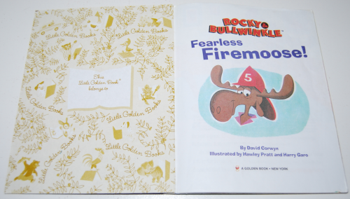 Fearless firemoose little golden book 1