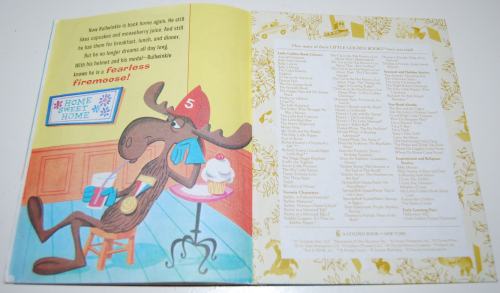 Fearless firemoose little golden book 8