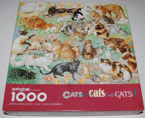 Puzzles cats