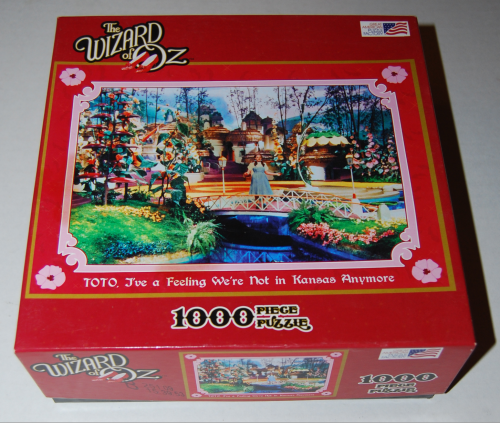 Puzzles wizard of oz