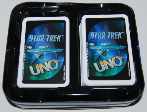 Star trek special edition uno card game tin 1