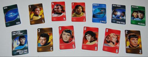 Star trek special edition uno card game tin 3